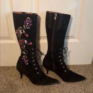 Donald J Pliner Lace Up Boots